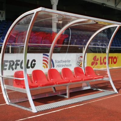 Dug Out Exclusief 2.5 meter (5 zitplaatsen)