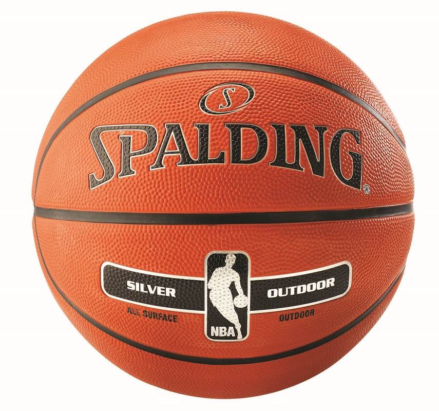 Spalding NBA Silver In/Outdoor Basketbal