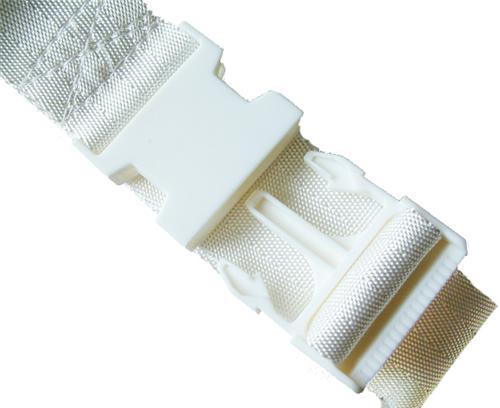Adjusterband Nylon met PVC Sluiting