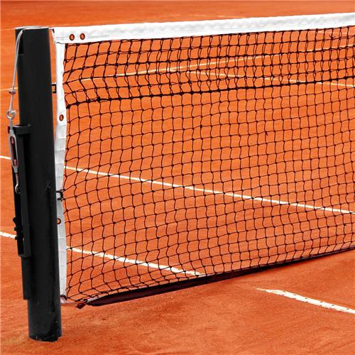 Tennisnet met Dubbele Topmaas