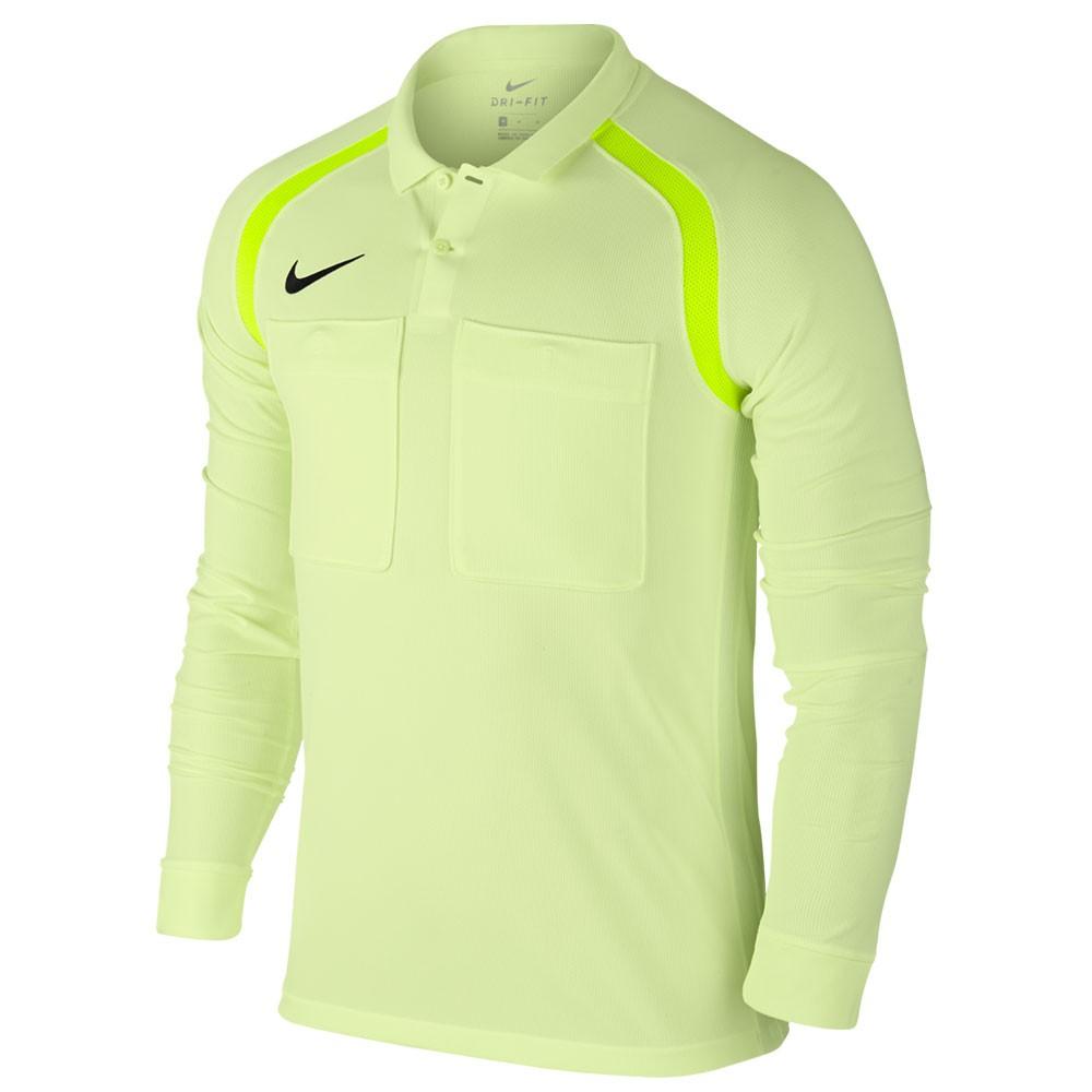 Nike Team Referee Scheidsrechter Shirt Lange Mouw