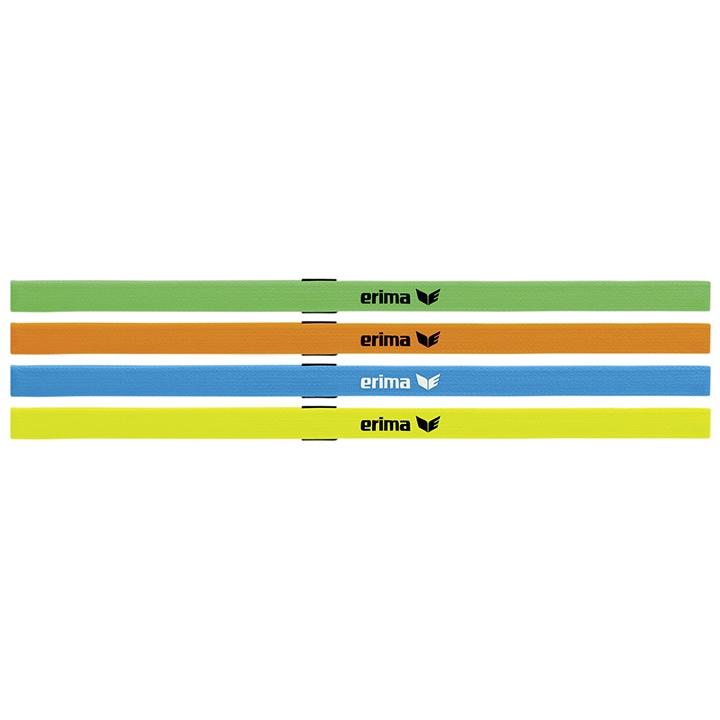 Erima Set van 4 Haarbanden Gekleurd
