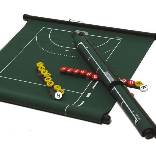 Coachbord Oprolbaar Voetbal 72 x 53 cm