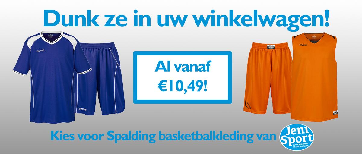 JENI Spalding basketbalkleding