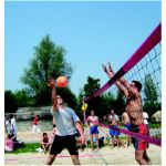 Beachvolleybalnet Recreatie