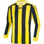Jako Inter Shirt Lange Mouw Citroen-Zwart 436203