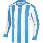 Jako Inter Shirt Lange Mouw Hemels Blauw Wit 436245