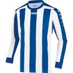 Jako Inter Shirt Lange Mouw Royal-Wit 436240