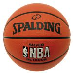 Spalding NBA Silver Rubber Outdoor Basketbal 83494