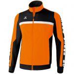 Erima 5-Cubes Polyesterjack Oranje-Zwart-Wit 102508