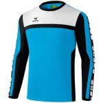 Erima 5-Cubes Functioneel Sweatshirt Curacao-Zwart-Wit