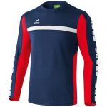 Erima 5-Cubes Functioneel Sweatshirt New Navy-Rood 107536