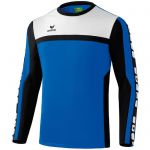 Erima 5-Cubes Functioneel Sweatshirt New Royal-Zwart-Wit 107530