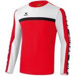 Erima 5-Cubes Functioneel Sweatshirt Rood-Wit-Zwart 107535