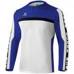 Erima 5-Cubes Functioneel Sweatshirt Wit-Indigo Blauw-Zwart 107529