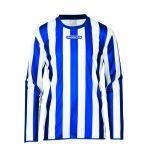 Masita Sportshirt Lange Mouw Barca Blauw-Wit 1617-2110