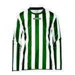 Masita Sportshirt Lange Mouw Barca Groen-Wit 1617-4010