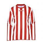 Masita Sportshirt Lange Mouw Barca Rood-Wit 1617-5010