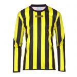 Masita Sportshirt Lange Mouw Barca Zwart-Geel 1617-1530