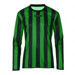 Masita Sportshirt Lange Mouw Barca Zwart-Groen 1617-1540