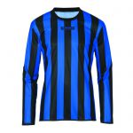 Masita Sportshirt Lange Mouw Barca Zwart-Royal Blauw 1617-1521