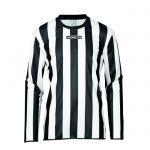 Masita Sportshirt Lange Mouw Barca Zwart-Wit 1617-1510