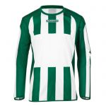 Masita Sportshirt Lange Mouw Inter Wit-Groen 1616-1040