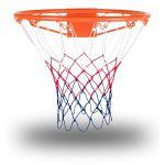 Rucanor Basketbalring Met Net 27368