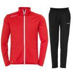 Uhlsport Essential Classic Trainingspak Rood-Wit 100516703