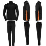 Uhlsport Essential Classic Trainingspak Zwart-Fluo Oranje 100516706 v1