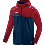 Jako Jas met Capuchon Competition 2.0 Marine-Donker Rood 6818 09