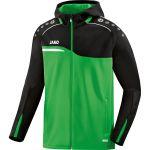 Jako Jas met Capuchon Competition 2.0 Soft Groen-Zwart 6818 22