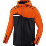 Jako Jas met Capuchon Competition 2.0 Zwart-Neon Oranje 6818 19