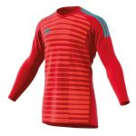 Adidas Adipro 18 Keepershirt Power Rood-Semi Solar Rood-Energy Aqua CV8478