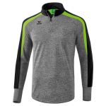 Erima Liga 2.0 Training Top Grijs Melange-Zwart-Groen Gecko 1261812