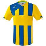 Erima Siena 3.0 Shirt Korte Mouw Geel-New Royal 3131824