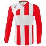 Erima Siena 3.0 Shirt Lange Mouw Kind Rood-Wit K3141809