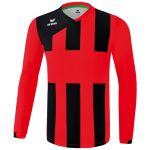 Erima Siena 3.0 Shirt Lange Mouw Kind Rood-Zwart K3141808
