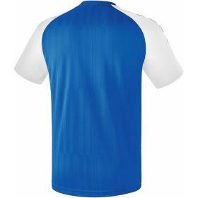 Erima Tanaro 2.0 Shirt Korte Mouw New Royal-Wit Achterzijde