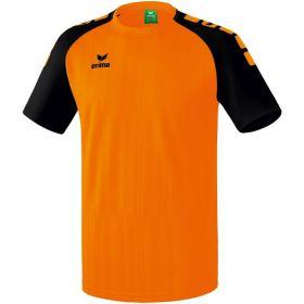 Erima Tanaro 2.0 Shirt Korte Mouw Oranje-Zwart 313707