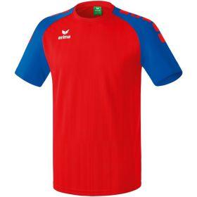 Erima Tanaro 2.0 Shirt Korte Mouw Rood-New Royal 313706