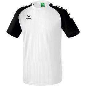 Erima Tanaro 2.0 Shirt Korte Mouw Wit-Zwart 313703