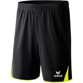 Erima 5-Cubes Short Zwart Neon Geel 615403