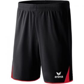 Erima 5-Cubes Short Zwart Rood 615401