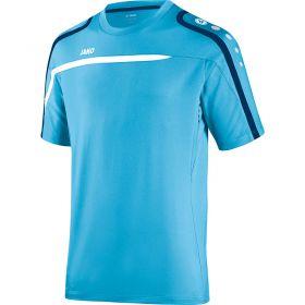 Jako Performance T-Shirt Aqua-Wit-Marine 6197