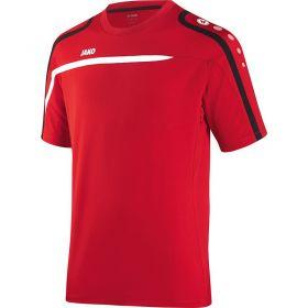 Jako Performance T-Shirt Rood Wit Zwart 6197 01