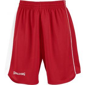 Spalding 4Her II Sportshorts Rood-Wit-Zwart