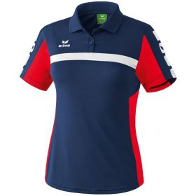 Erima 5-Cubes Polo Dames New Navy-Rood 111557