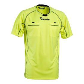Cawila Scheidsrechter Shirt Referee 15 Korte Mouw Geel