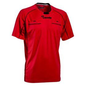 Cawila Scheidsrechter Shirt Referee 15 Korte Mouw Rood